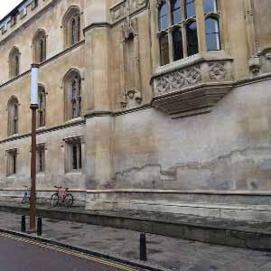 Interstitial condensation Corpus Christi College - Cambridge