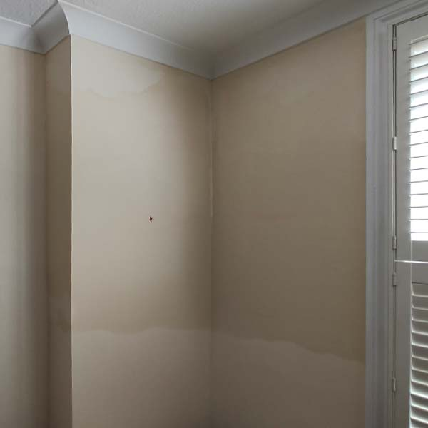 Example failed damp proofing treatment